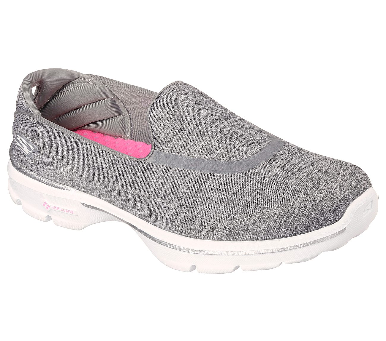 Skechers GOwalk 3  Reboot 6500 47 65 reviews Read 65 Reviews  Hover to zoom Gray