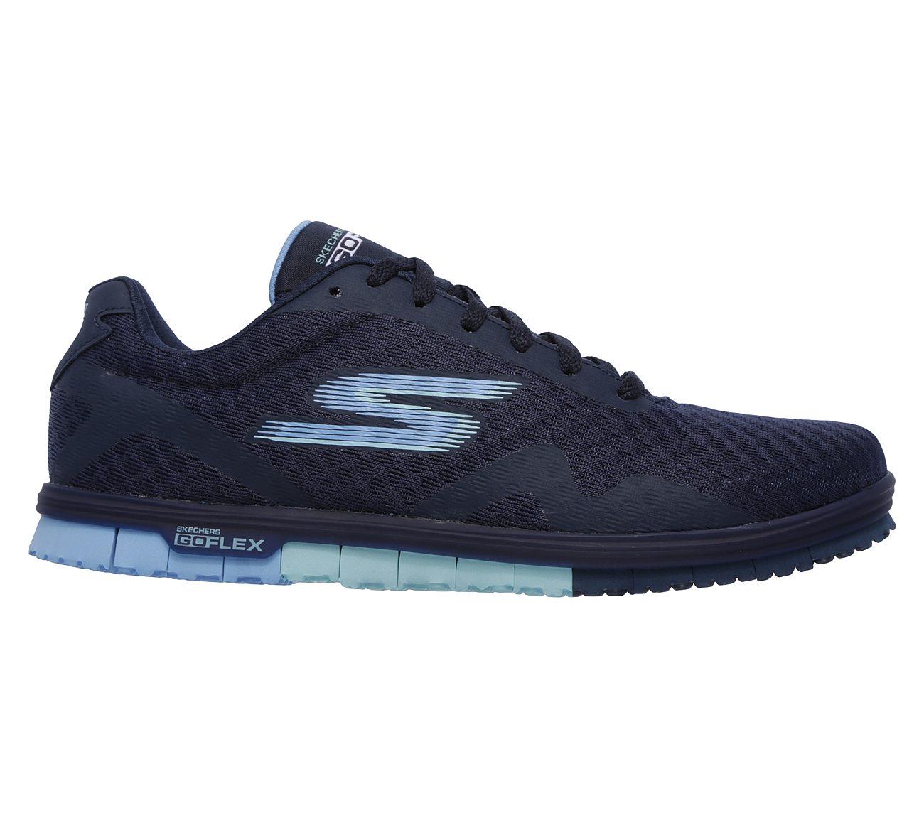 Skechers Go Mini Flex - Speedy Grey Running Shoes pre order online rzJNm