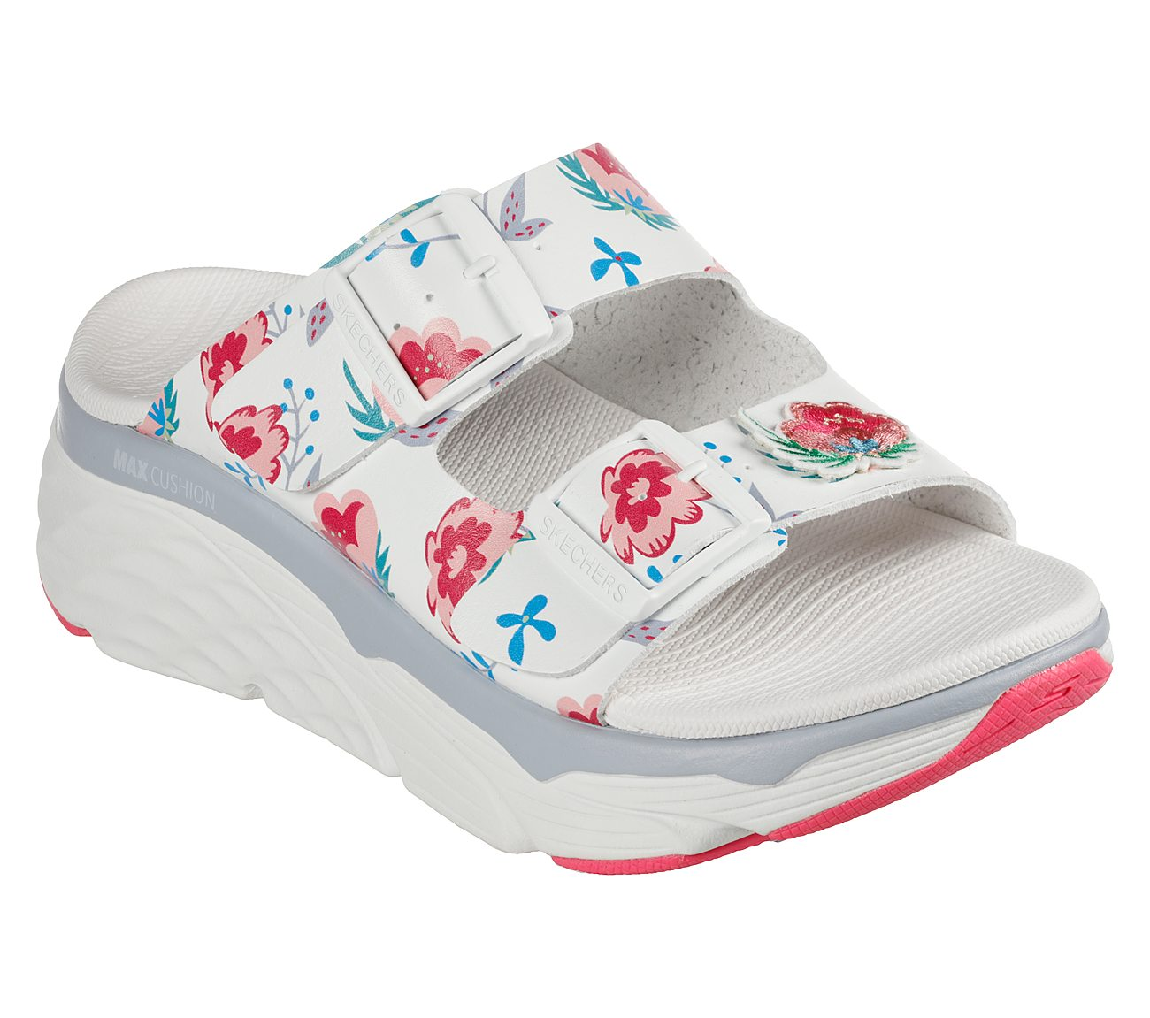 Wild Flower Skechers Max Cushioning Shoes