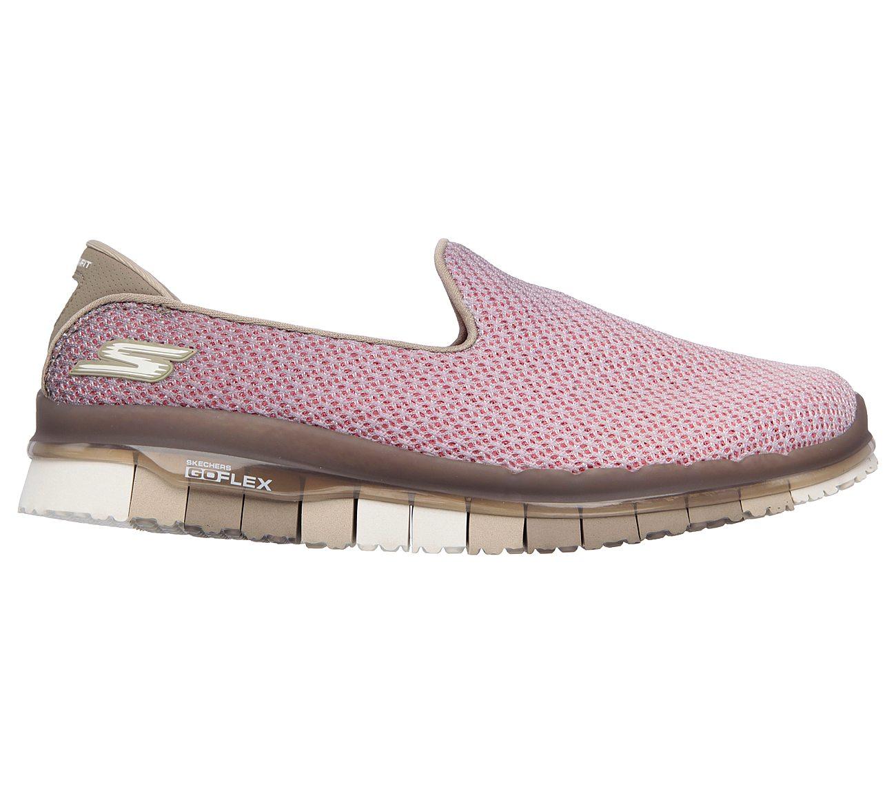 womens skechers go flex walk lotus slip on walking shoe