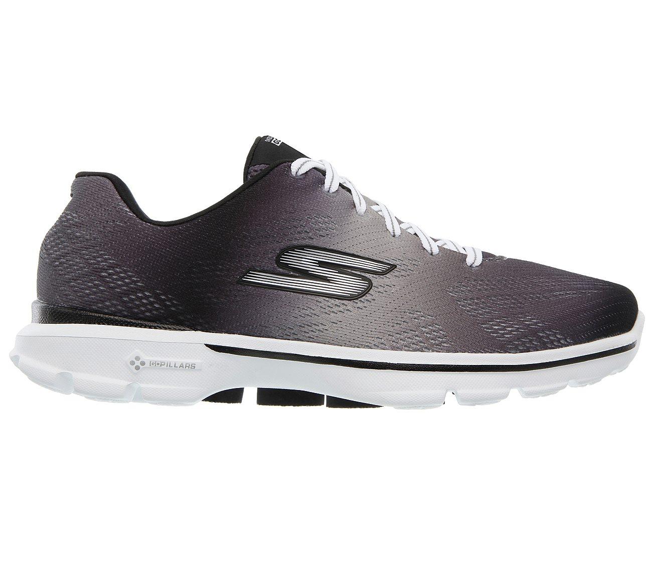 Skechers Shoes  Skechers Go GO Pulse 14032 Womens Sports Shoes BlackWhite
