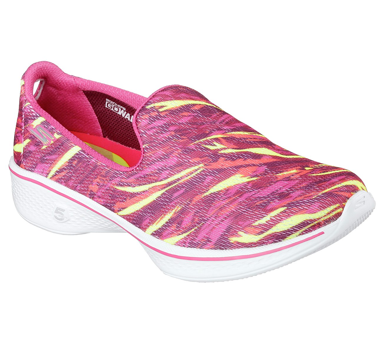 Skechers GOwalk 4  Electrify 6000 Hover to zoom Pink Multi