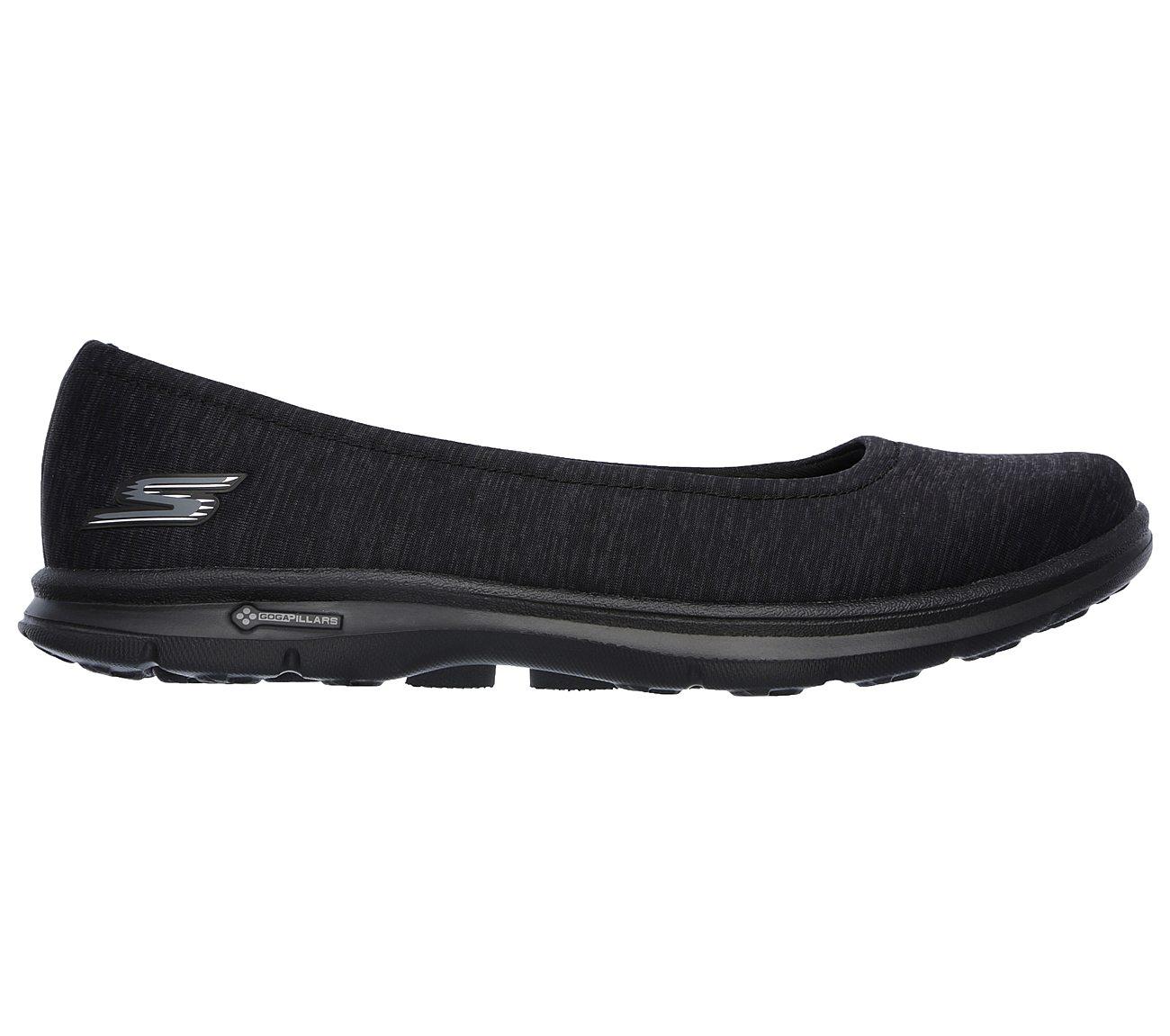 Go Step Distinguish Womens Slip On Ballet Flat Sneakers Gray 10 Skechers Mit Paypal Günstigem Preis Freies Verschiffen Ebay iljeMqU