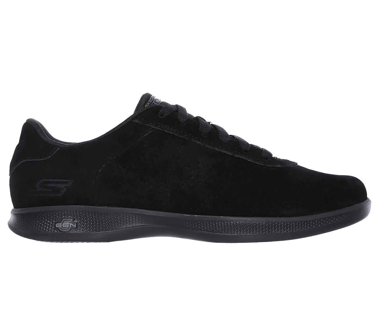 Skechers Women's Go Step Lite Deluxe Black 14700BBK 5 Gen