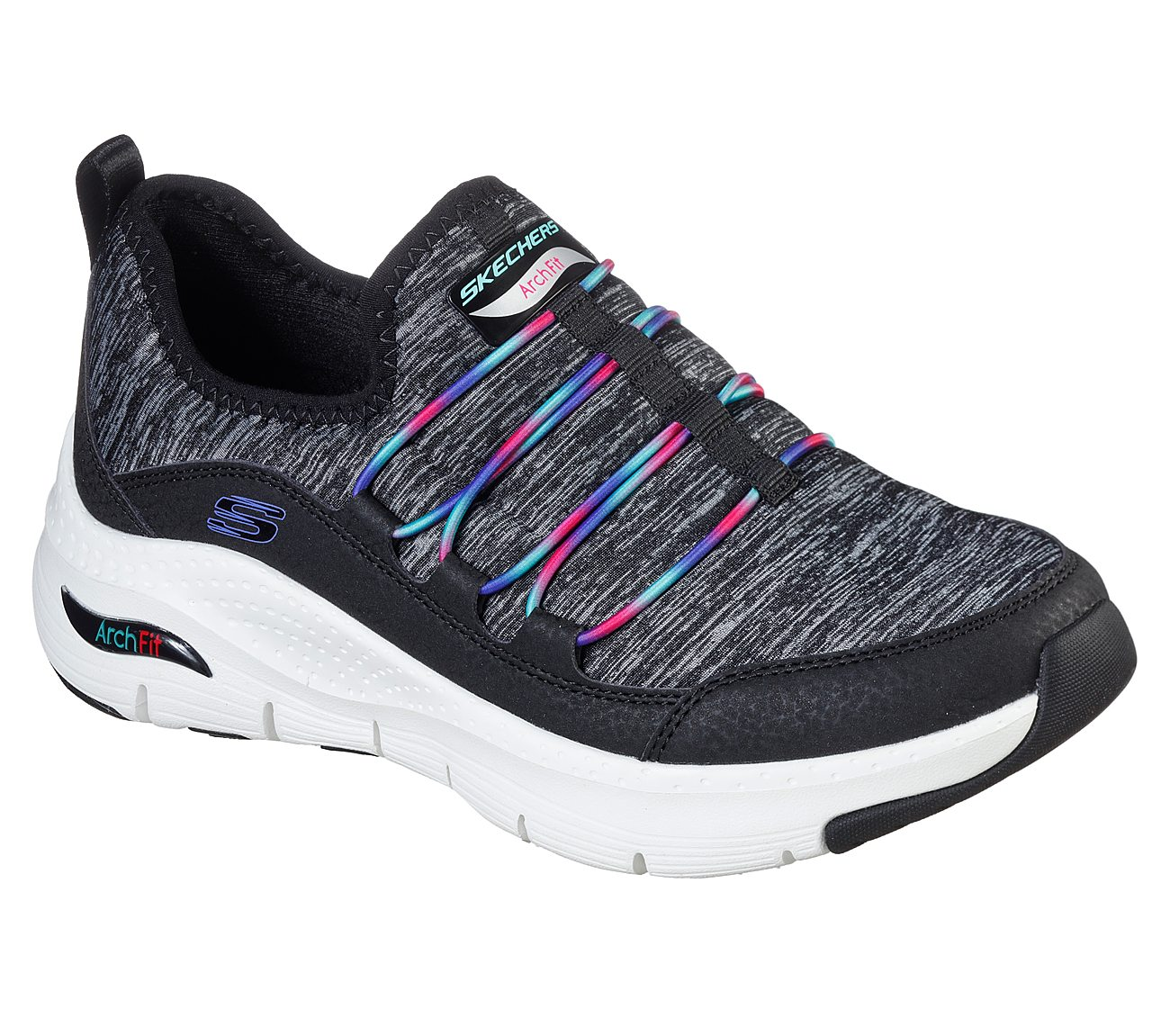 Rainbow View Skechers Arch Fit Shoes