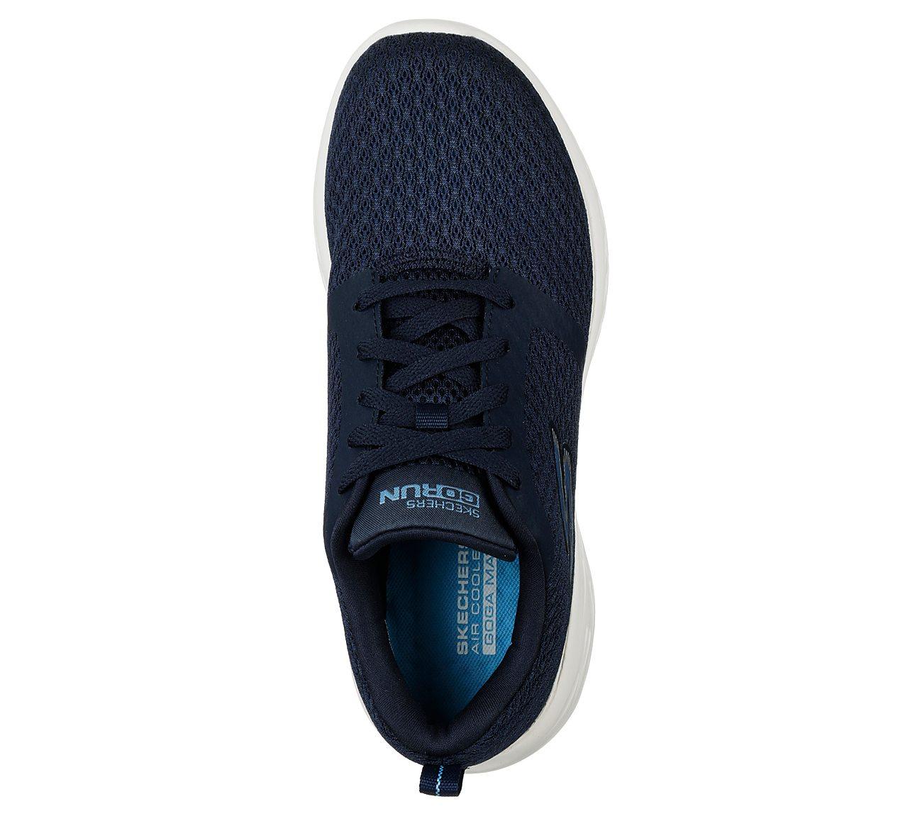 Skechers GOrun 600 Circulate Women Workout Shoes navywhite