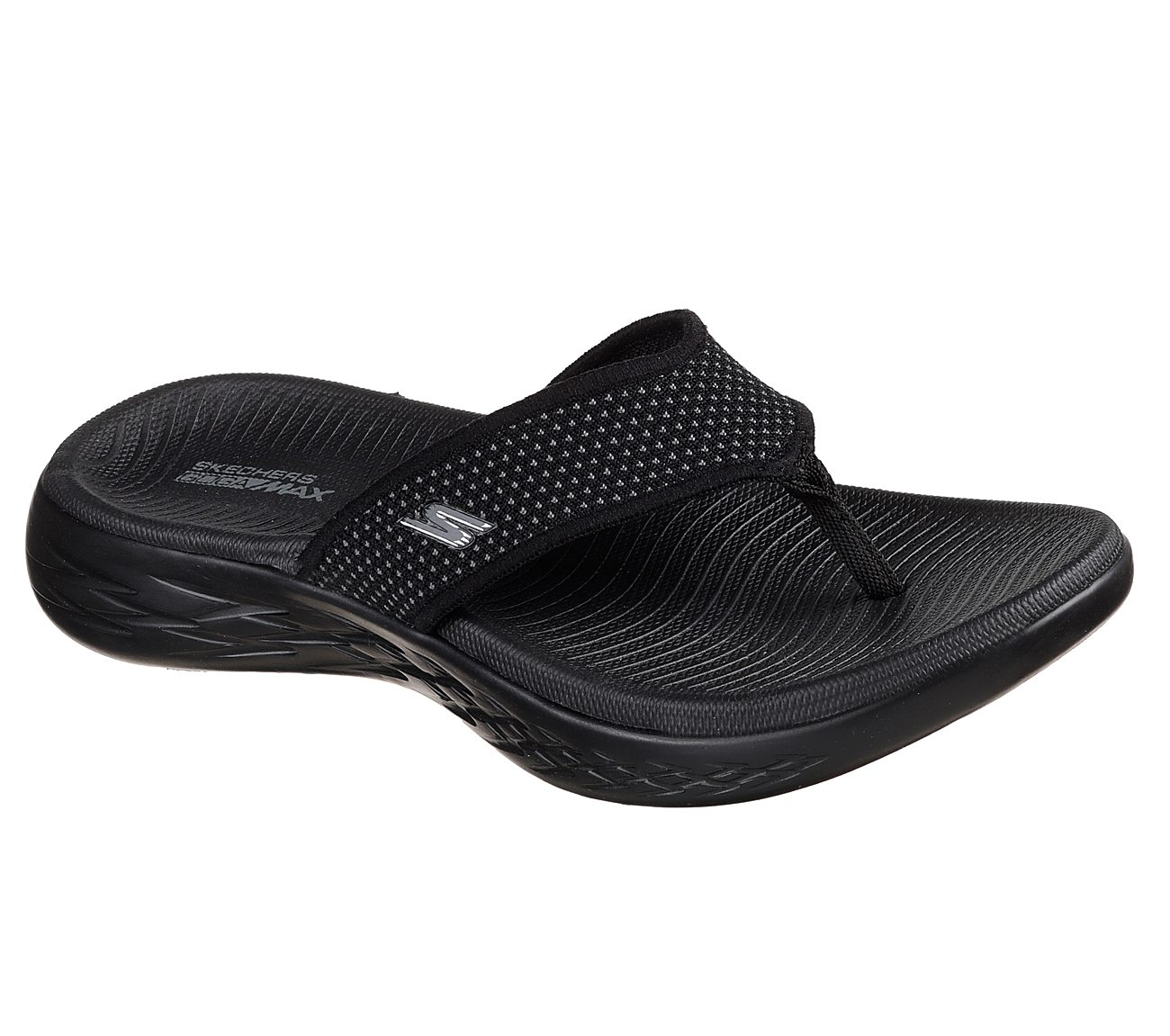 SKECHERS Thongs black 15300 BBK