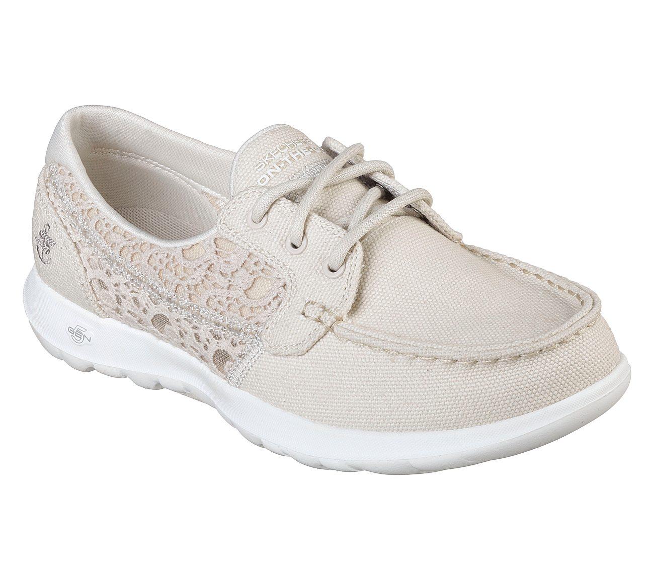 Skechers GOwalk Lite Mira Boat Shoe (Women's) xeBqNdmHN