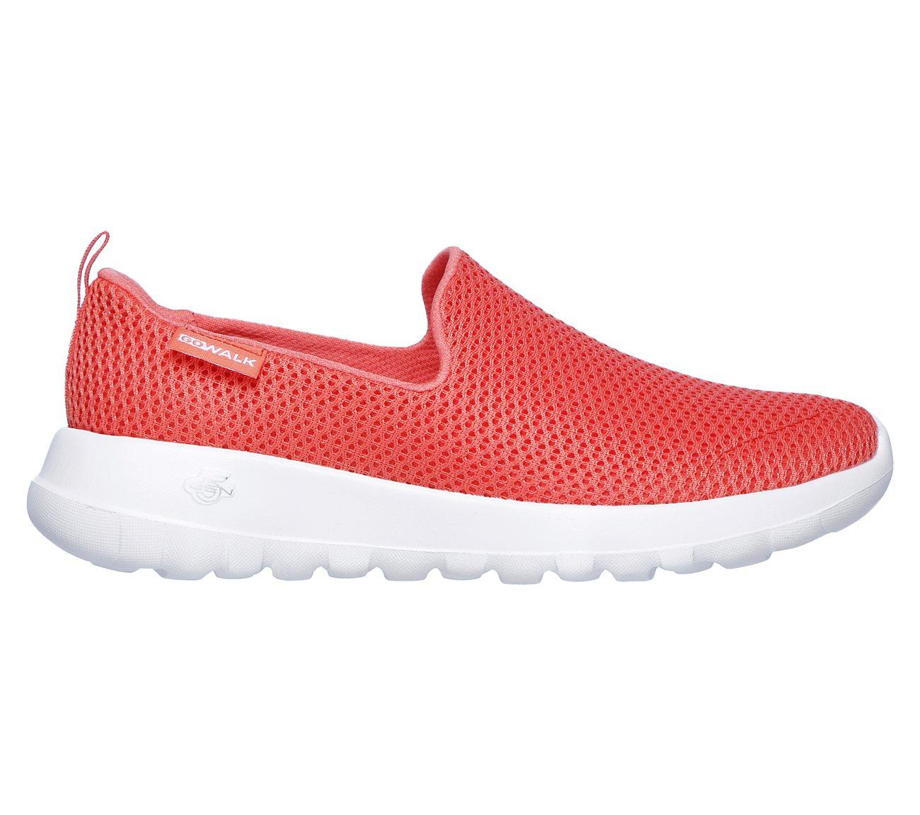 15600 Coral Skechers shoes Go Walk Joy Cool Women Mesh Slipon Comfort Casual New
