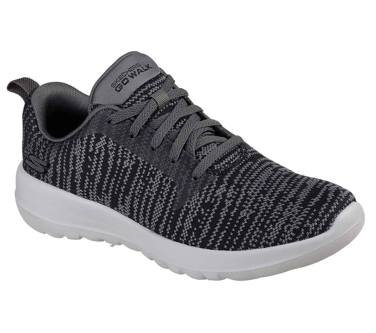 Performance Womens Go Joy 15603 Walking Shoe,Black/White,7.5 M US Skechers