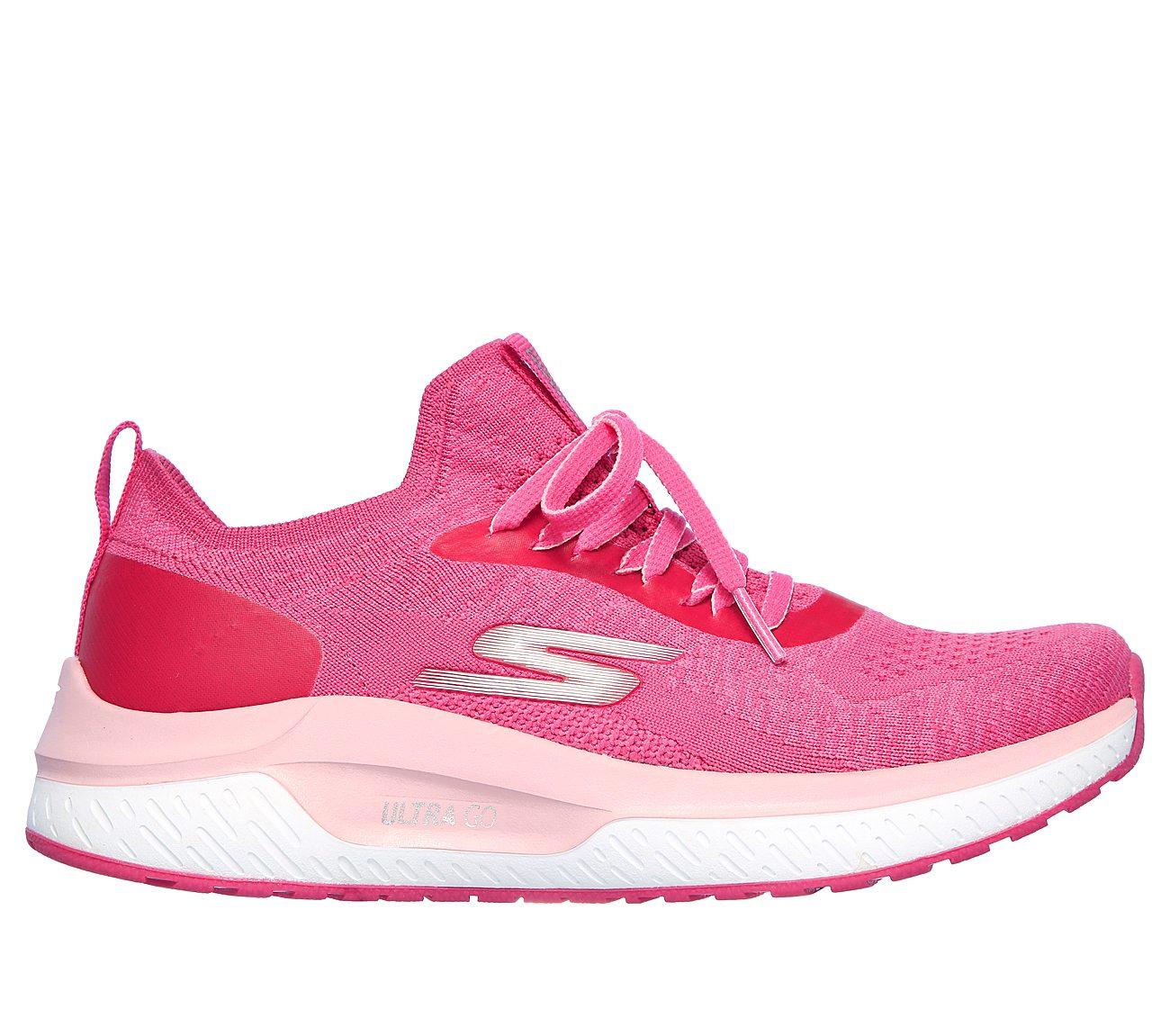 skechers go run pink