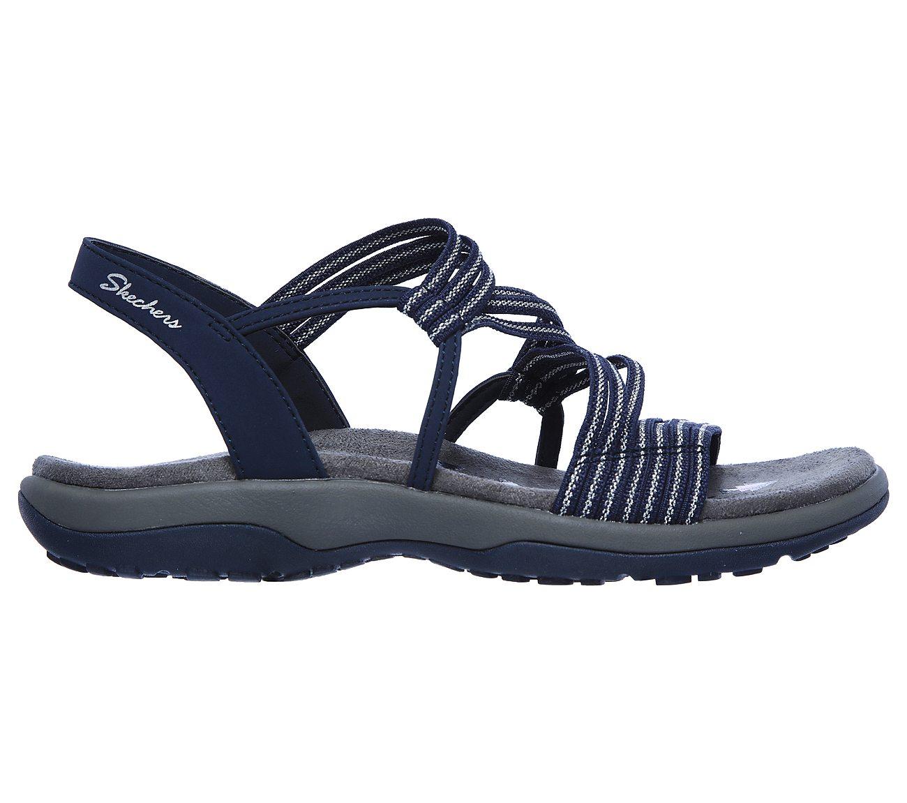 Wide Reggae Slim Strappy Sandal Skechers | Penningtons