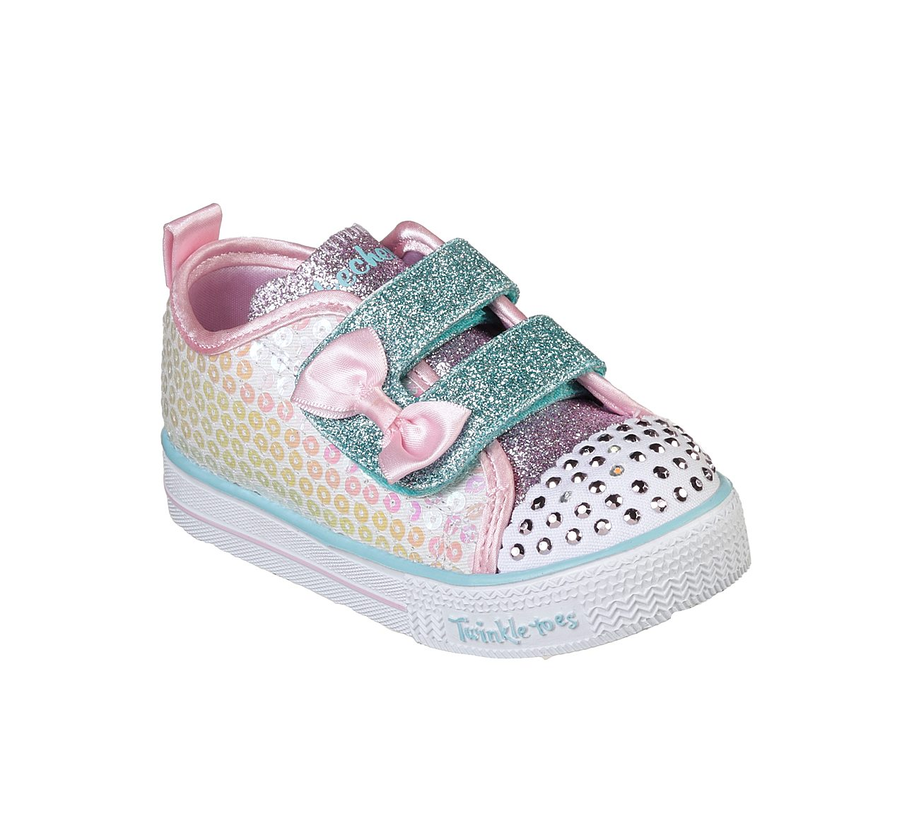 9f753cfa487bd Buy SKECHERS Twinkle Toes: Shuffle Lite - Mini Mermaid SKECHERS S-Lights  Shoes only £40.00