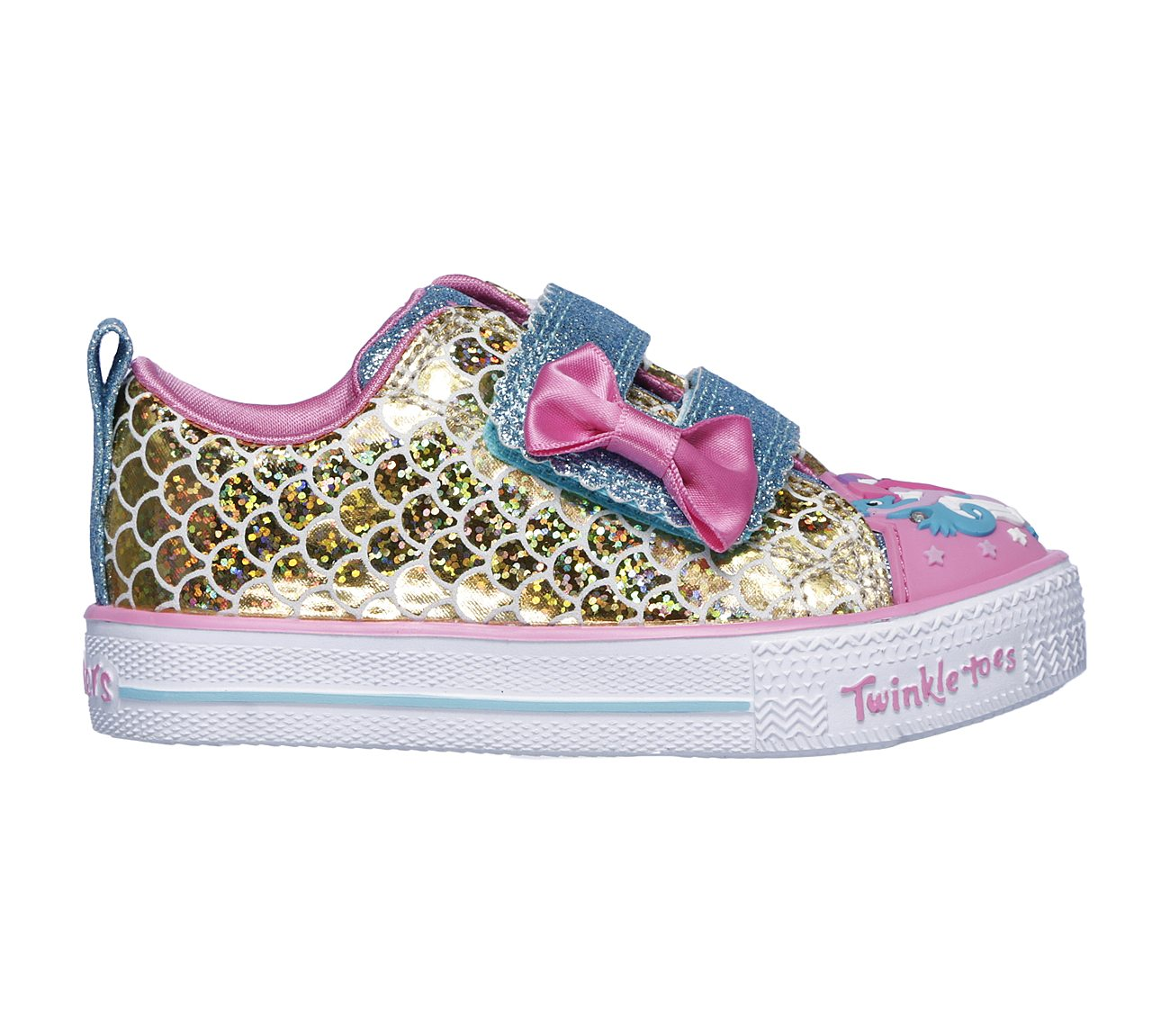 e56f235a956f Buy SKECHERS Twinkle Toes  Shuffle Lite - Mermaid Parade S-Lights ...