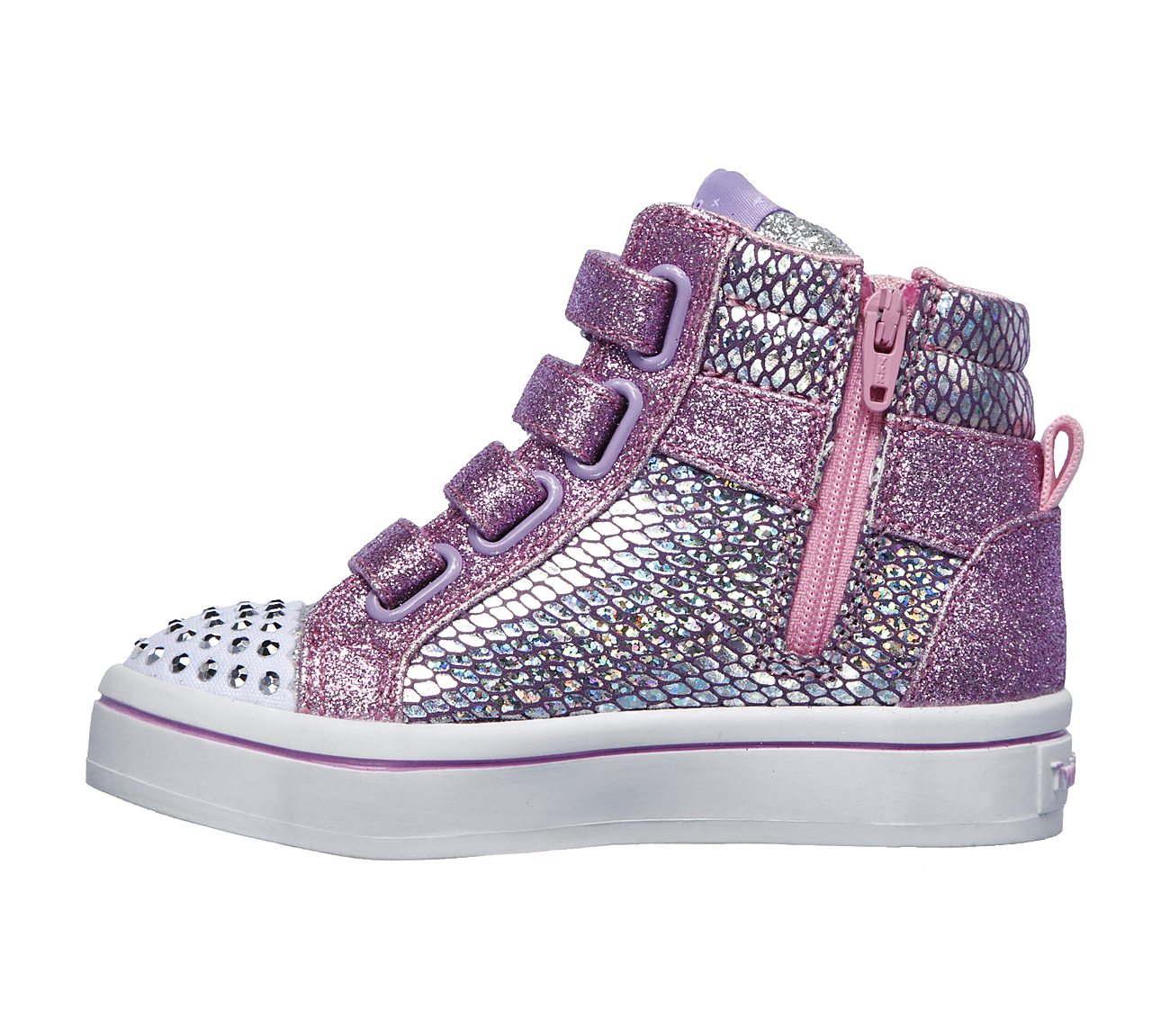 Twinkle Toes Twi Lites Miss Holla Glam Light Up High Top Sneaker