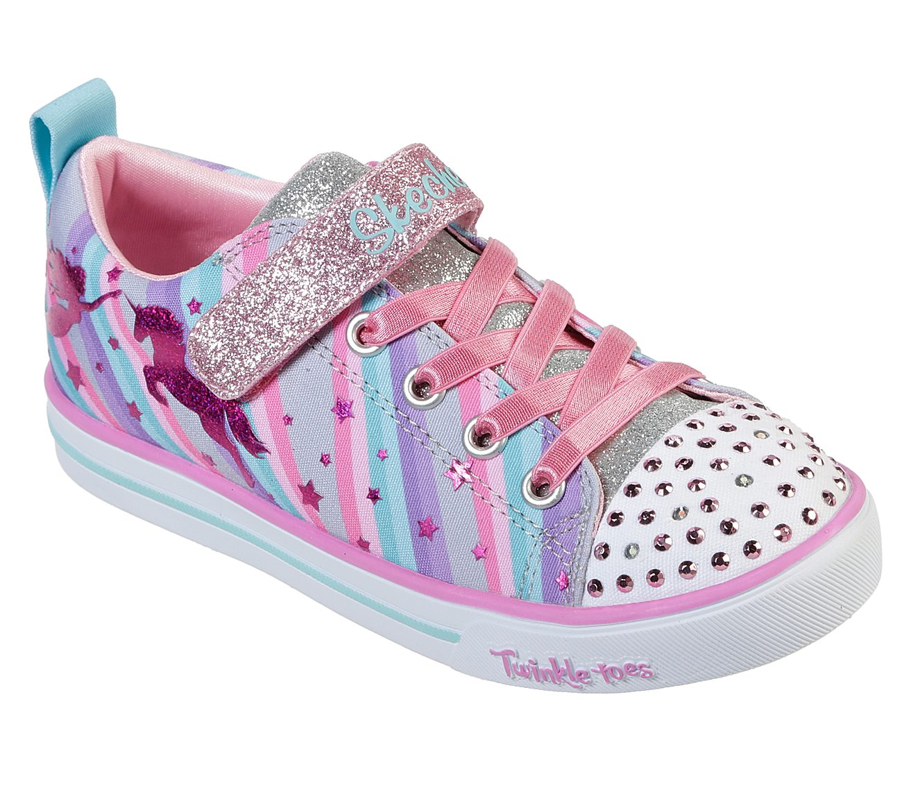 Skechers Sparkle Lite Magical Rainbows Girls' Lifestyle Shoes Xo8Af