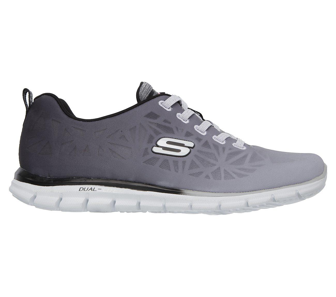 NEU SKECHERS Damen Sneakers Turnschuh Memory Foam GLIDER