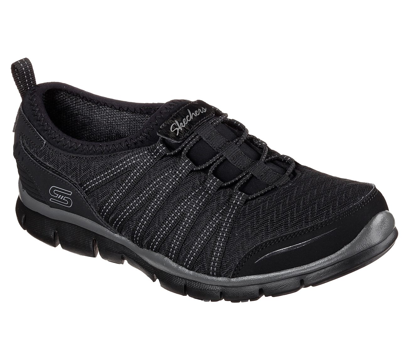 Sketchers Gratis Enticing Shoes In Black