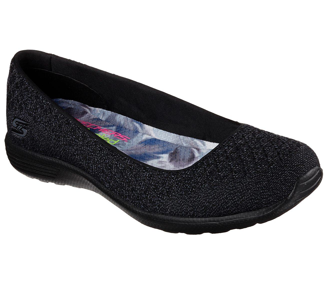 Skechers Shoes  Skechers Faith 22809 Womens Flats Black