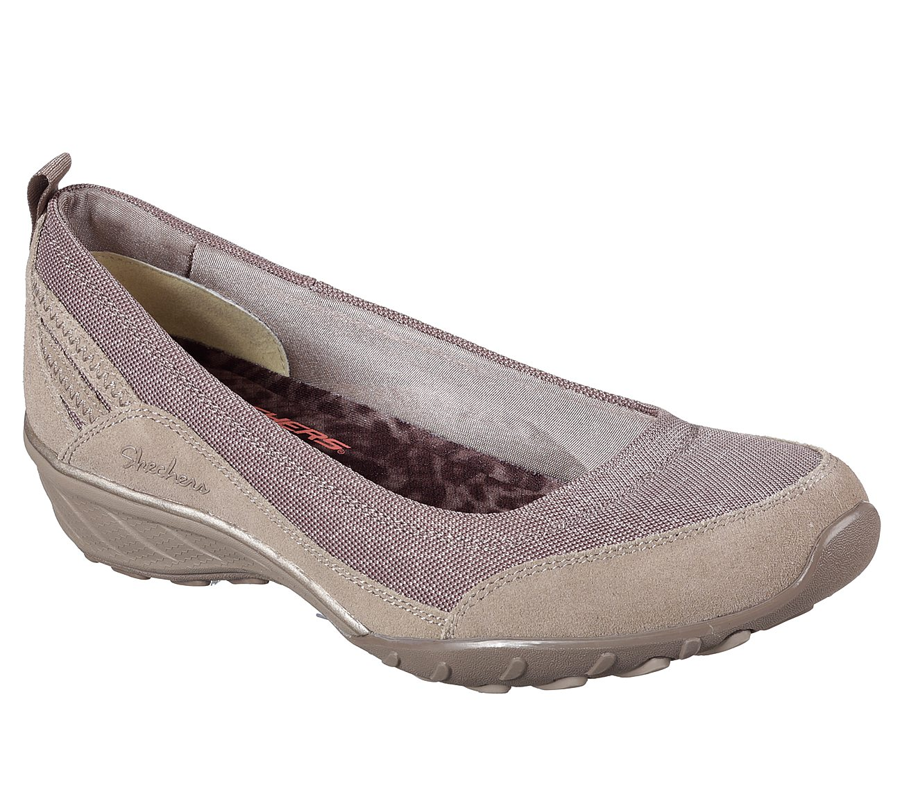 Skechers Taupe 22912 Savvy Relaxed Memory Foam Womens Size 6