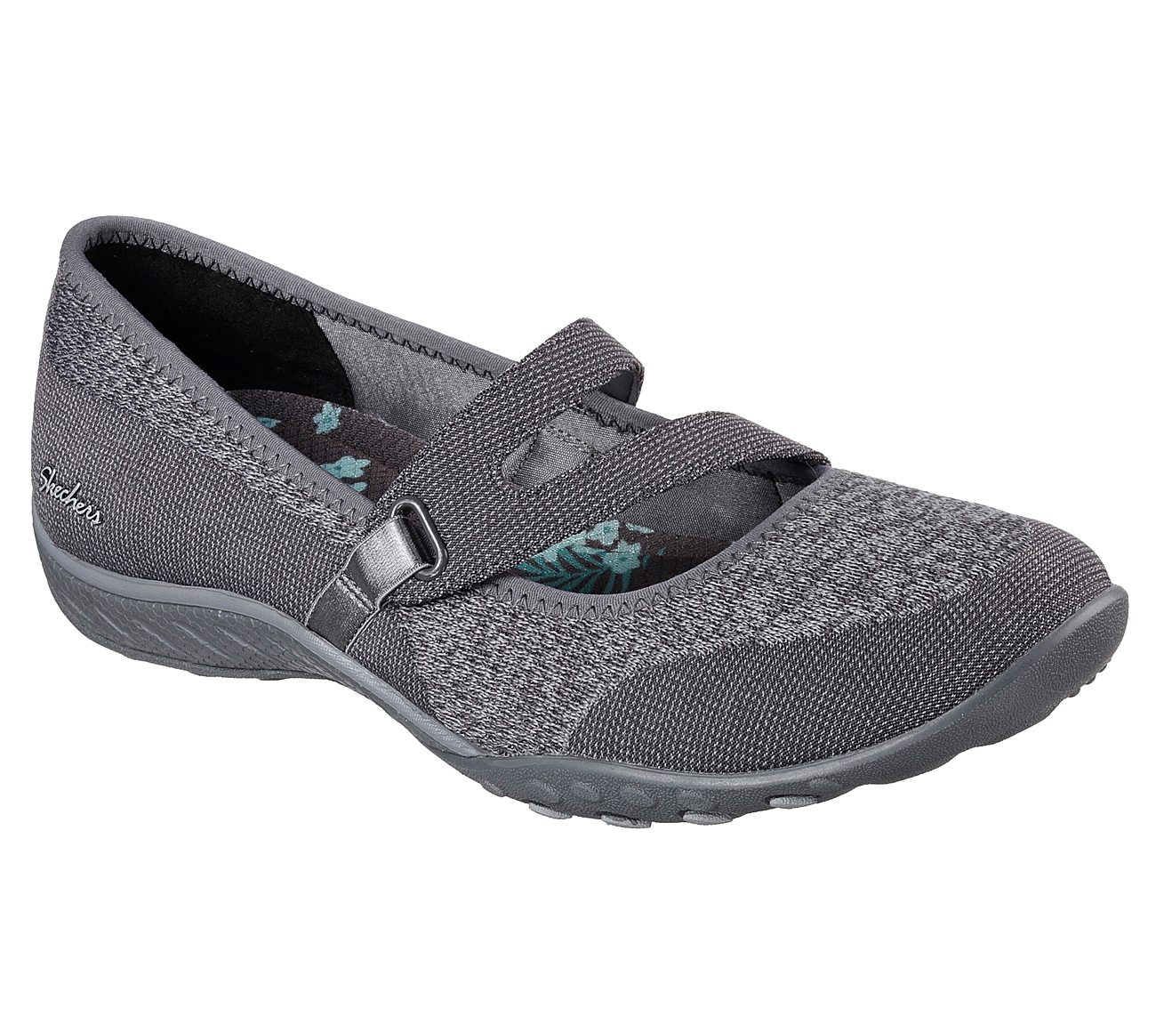 Women Skechers ACTIVE® Breathe Easy Lucky Lady Mary Janes Taupe
