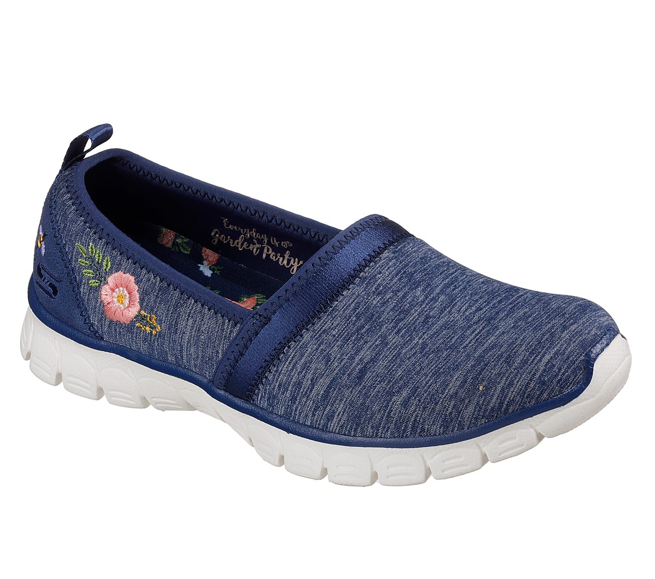 NEW SKECHERS WOMENS EZ FLEX 3.0 SWEET GARDEN SLIP-ON SNEAKER