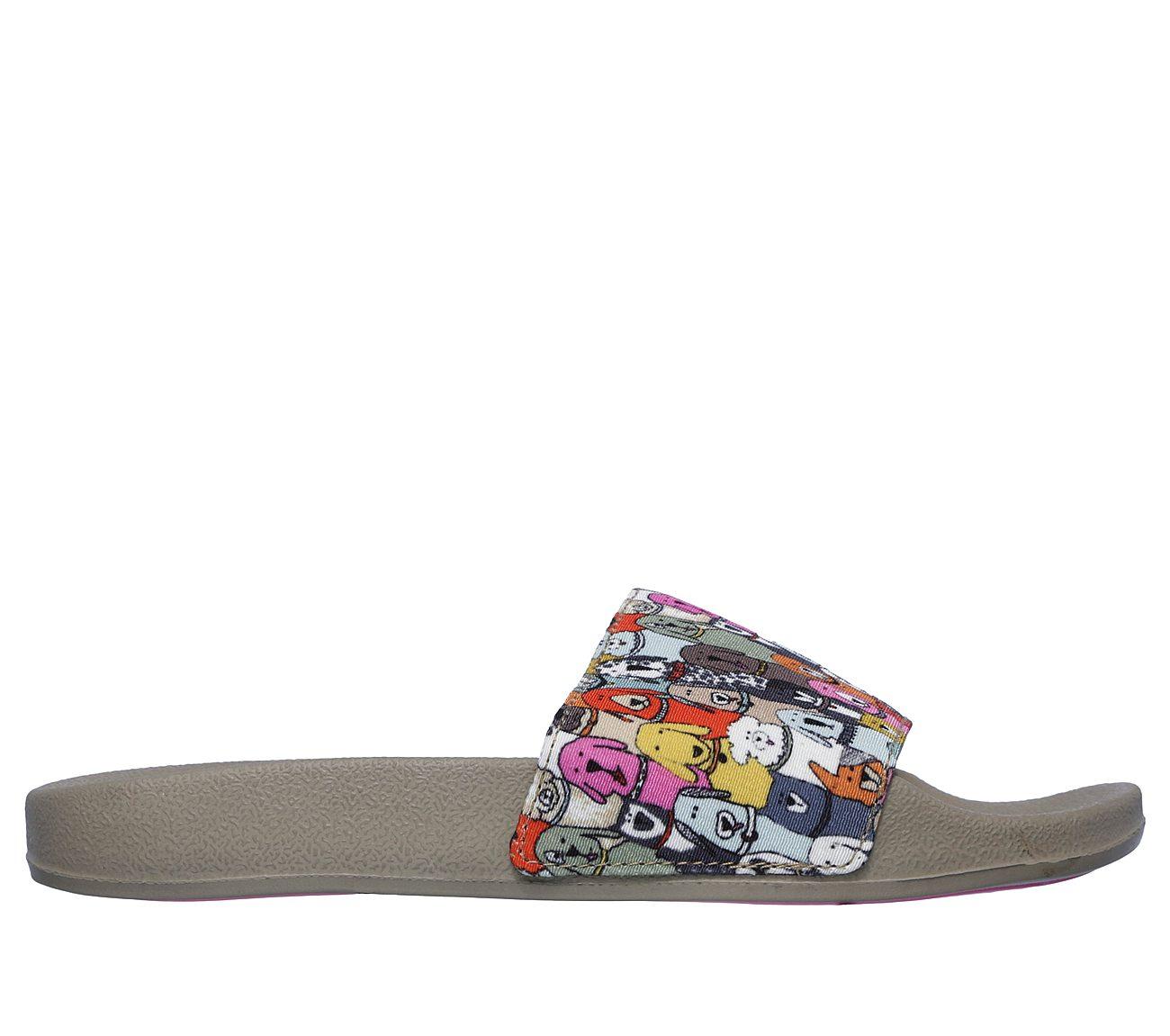 Women's Pop Ups-Doggie Paddle Slide Sandal