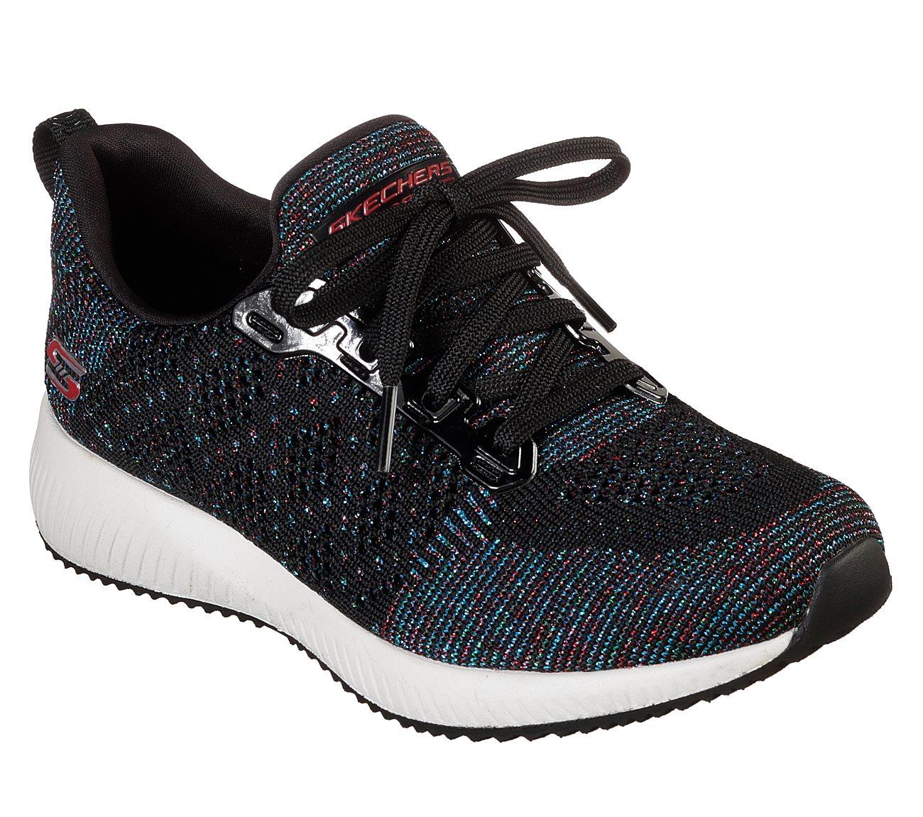 ea84f178d6d3 Buy SKECHERS BOBS Sport Squad - Pop Color Lace-Up Shoes Shoes only ...