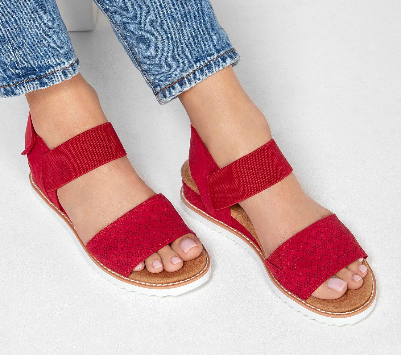 b6c871f87b3ca Buy SKECHERS BOBS Desert Kiss SKECHERS Bobs Shoes only £45.00