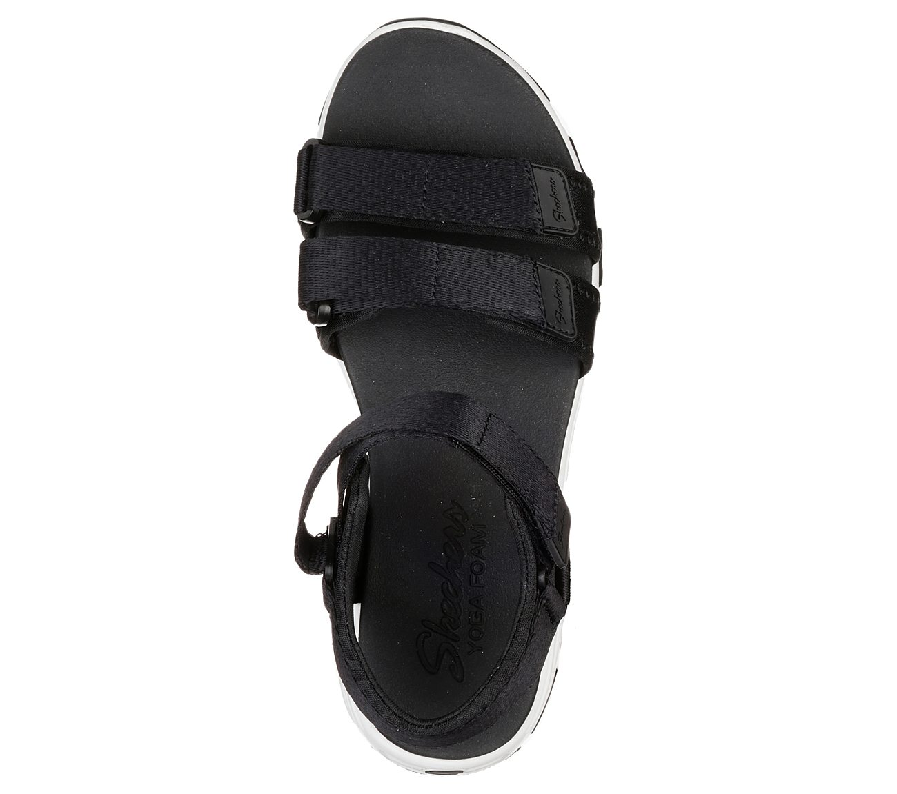 skechers yoga foam sandals