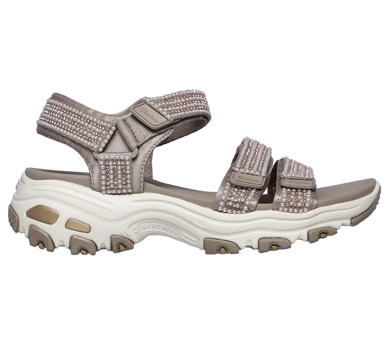 Womens Dlites Pretty Things Strap Sandals
