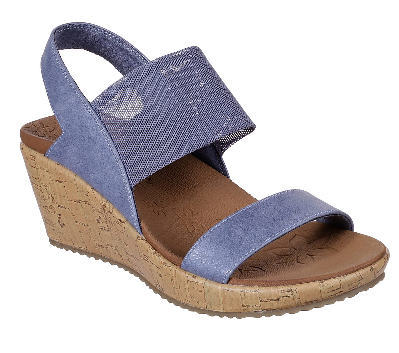 Skechers High Tea Mesh Band Backstrap Sandal
