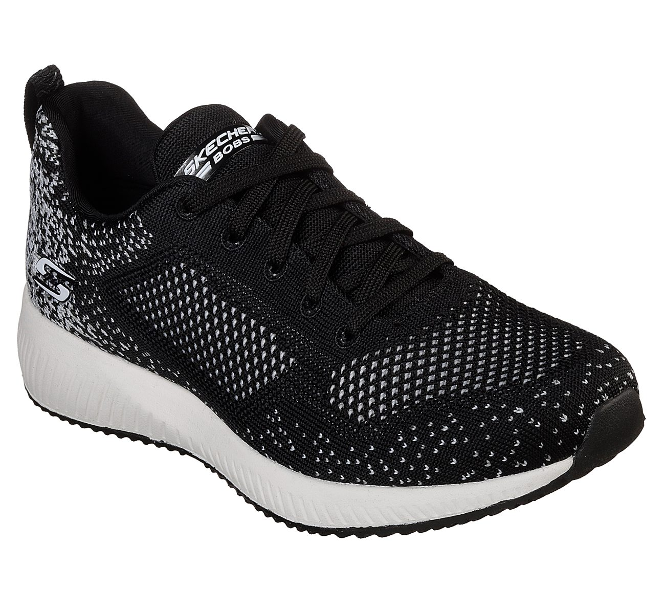 NEW SKECHERS WOMENS BOBS SPORT SQUAD AWESOME SAUCE SNEAKER