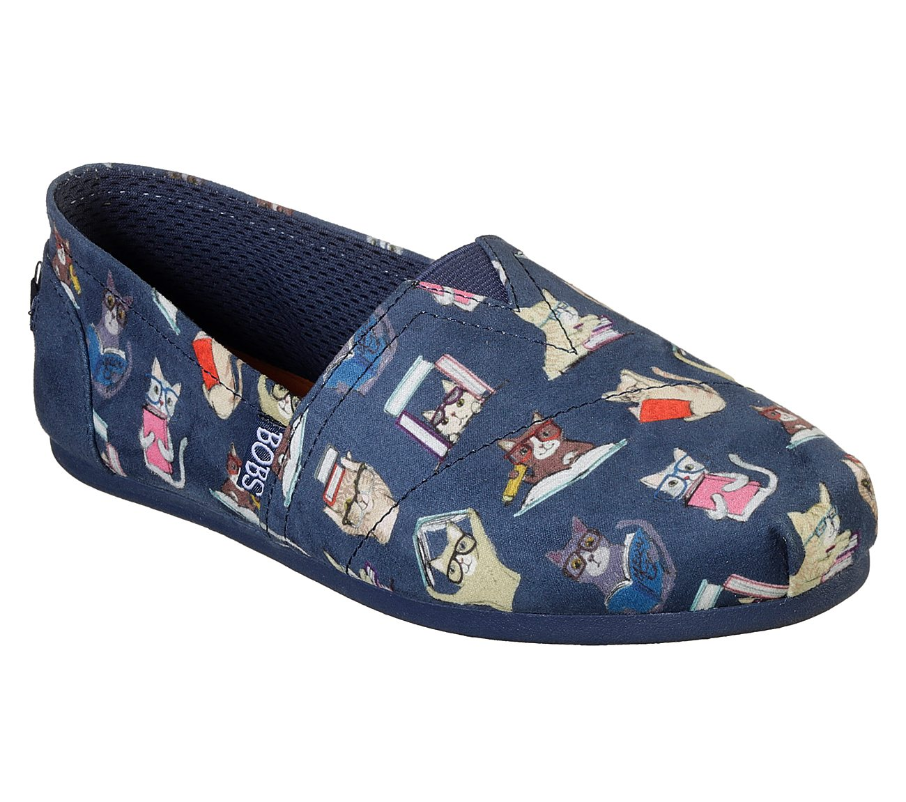 BOBS from SKECHERS BOBS Plush - Studious Cats T2HE4RRR