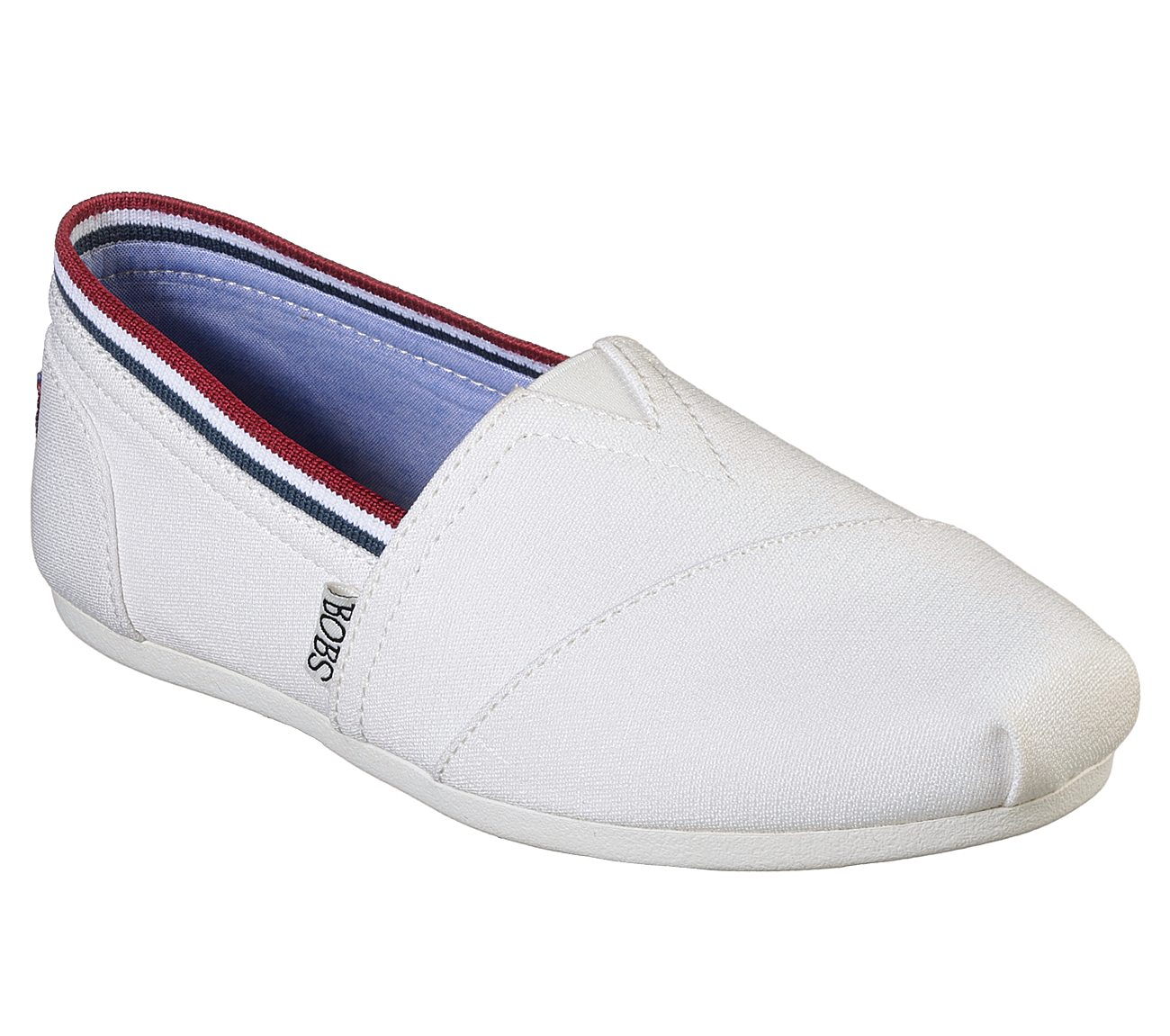Skechers Bobs Plush Color: Blue Red Size: 6.0