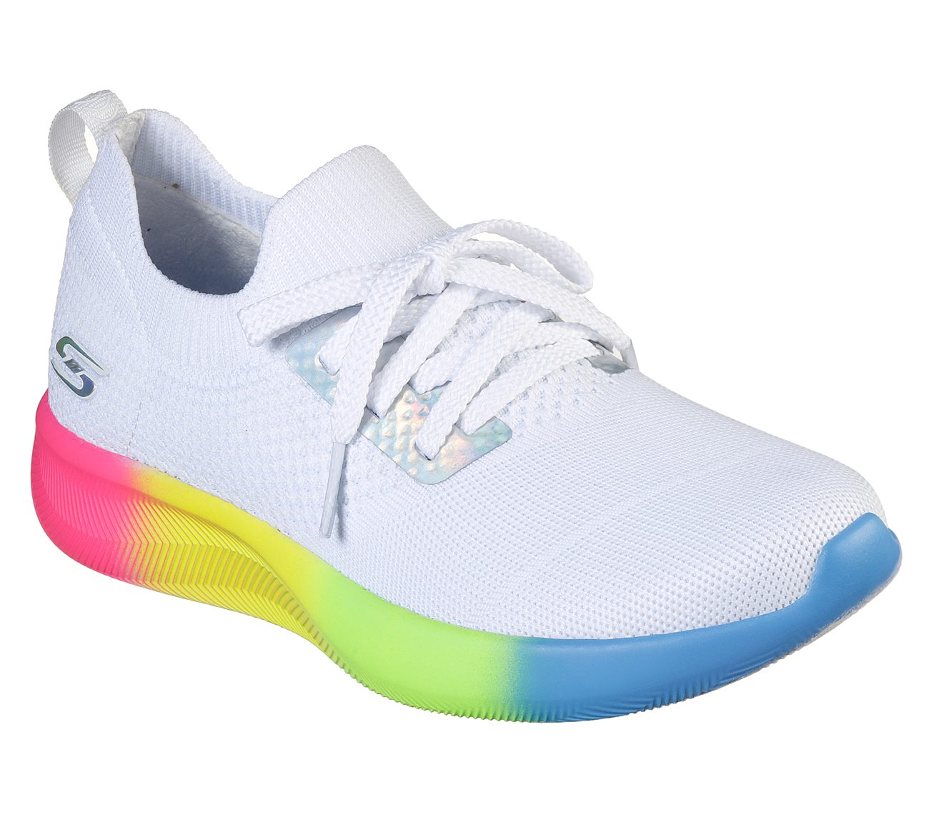 a379e51c3252 Buy skechers bobs sport squad rainbow rider bobs shoes only jpg 1300x1151 Skechers  rainbow shoes