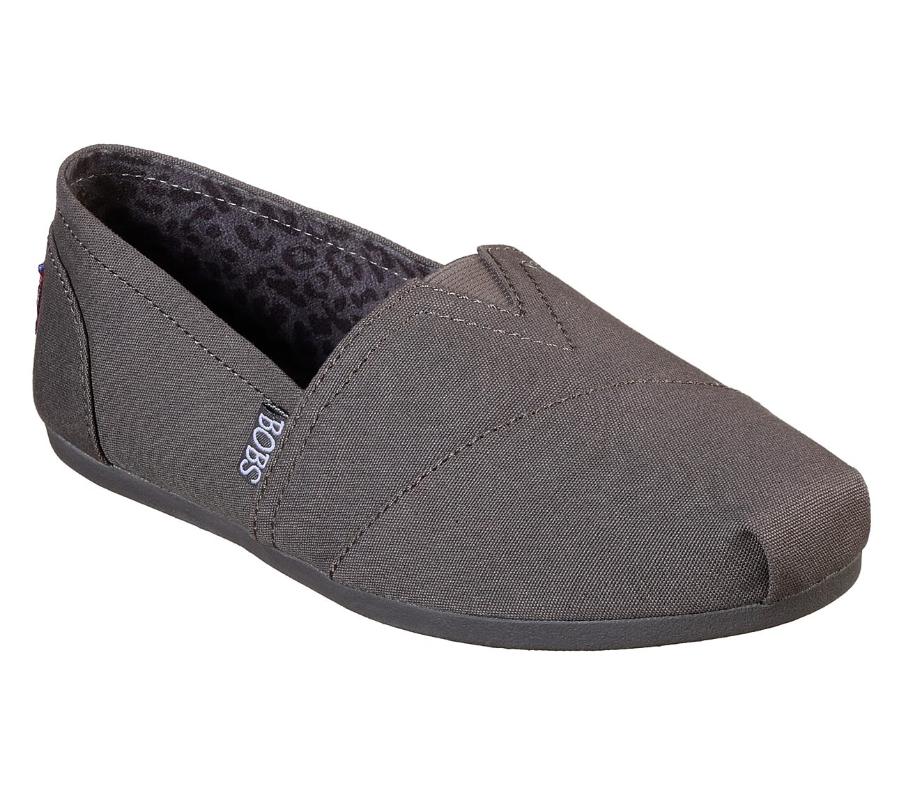 Bobs Plush - Peace And Love Skechers- Chocolate slip-ons