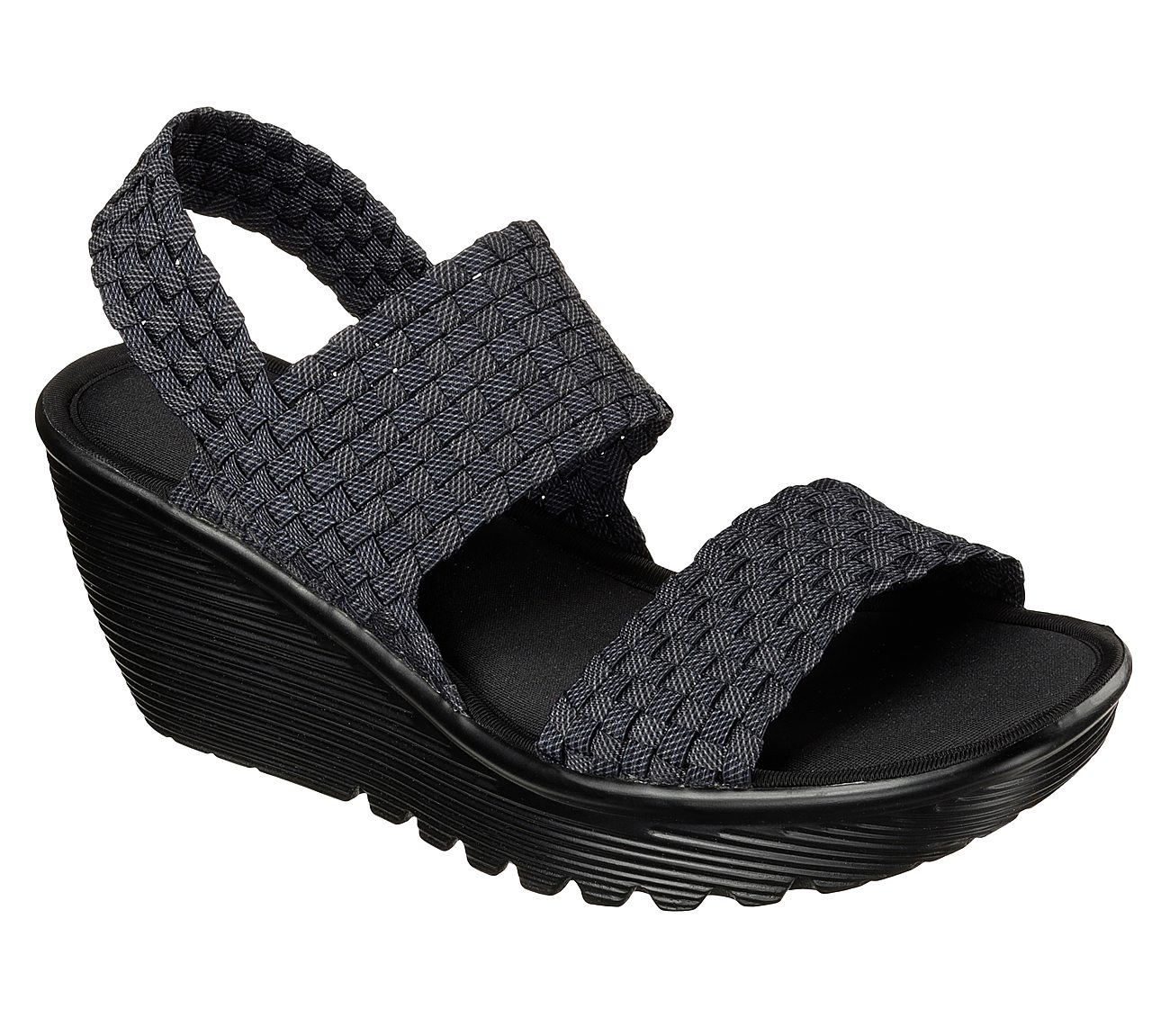 d9d3be2f4d8e Buy SKECHERS Parallel - Midsummers Weave Wedge Sandals Shoes only  59.00