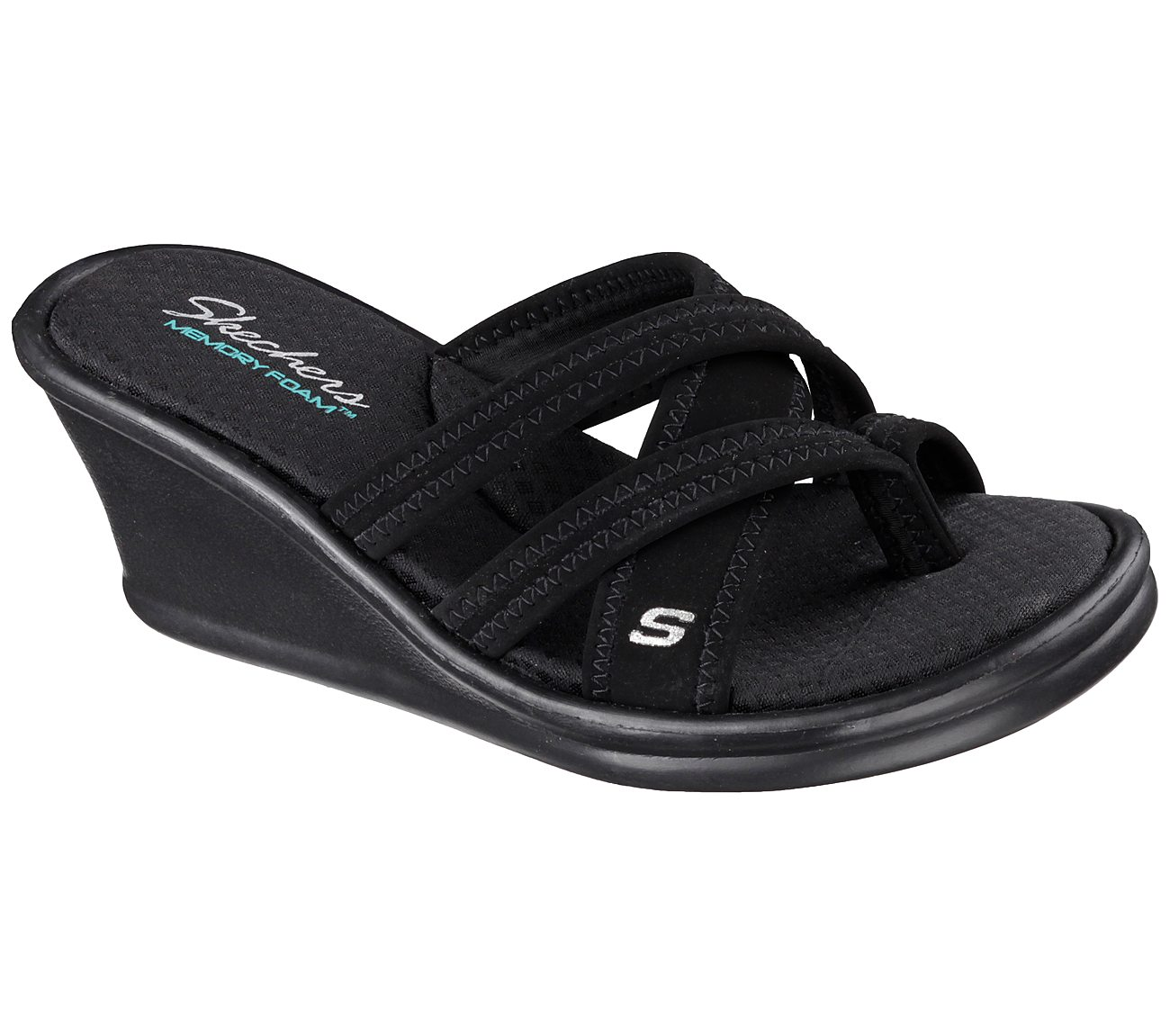 Black Skechers Rumblers Young At Heart Cali Shoes Womens On