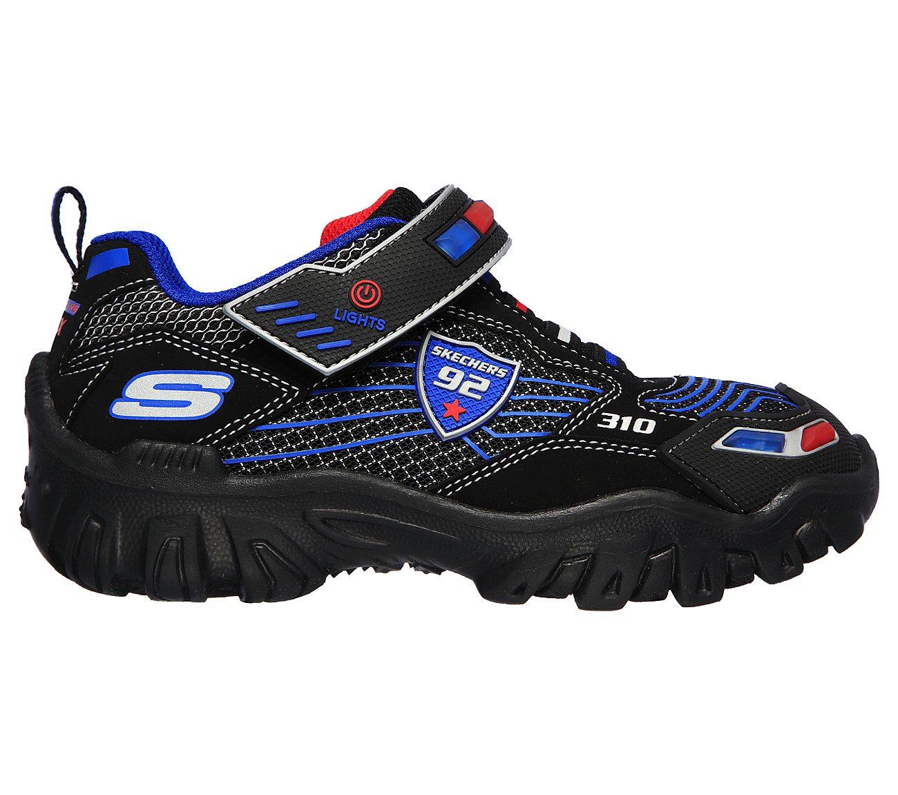 Skechers Little Kid Damager Police Light Up Sneaker