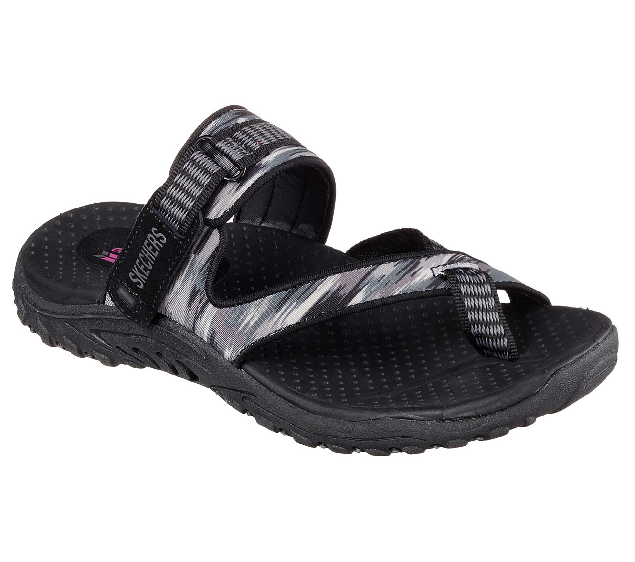 Skechers Reggae Brush Strokes Sandal (Women's)