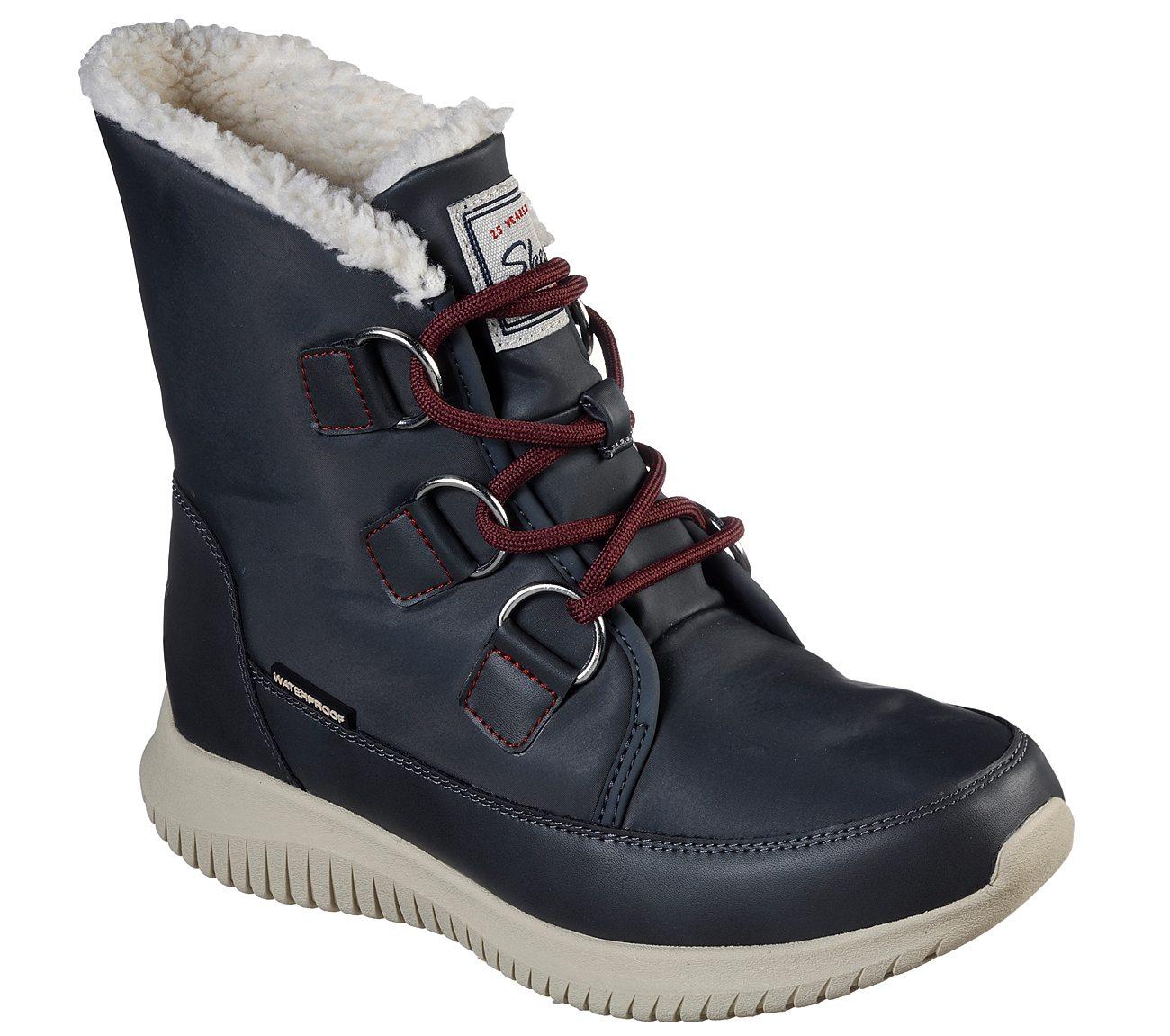 zapatos skechers ultra flex waterproof