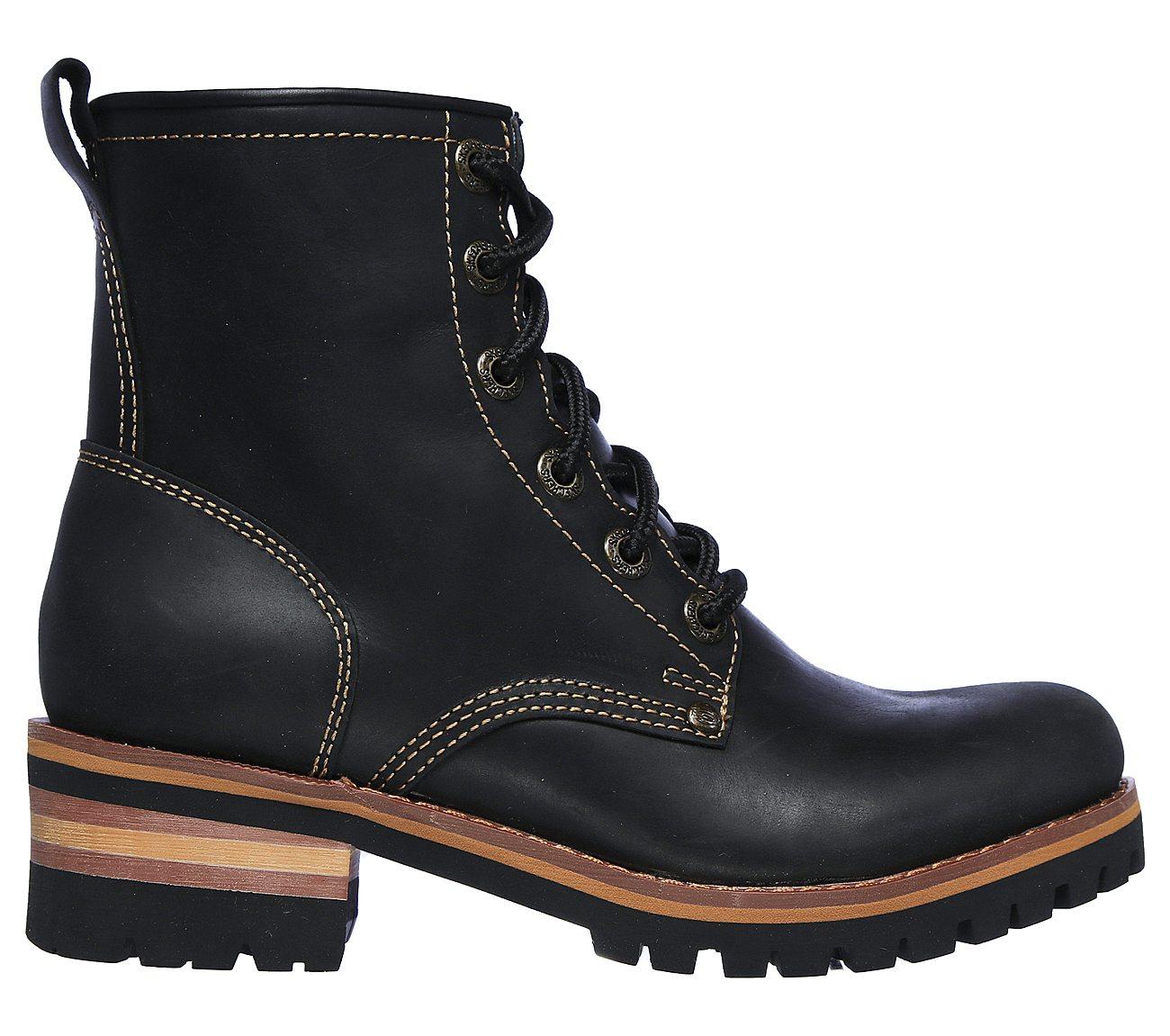 skechers mens boots with zipper