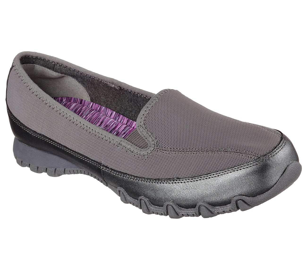Skechers Relaxed Fit® Bikers Split Decision Slip-On