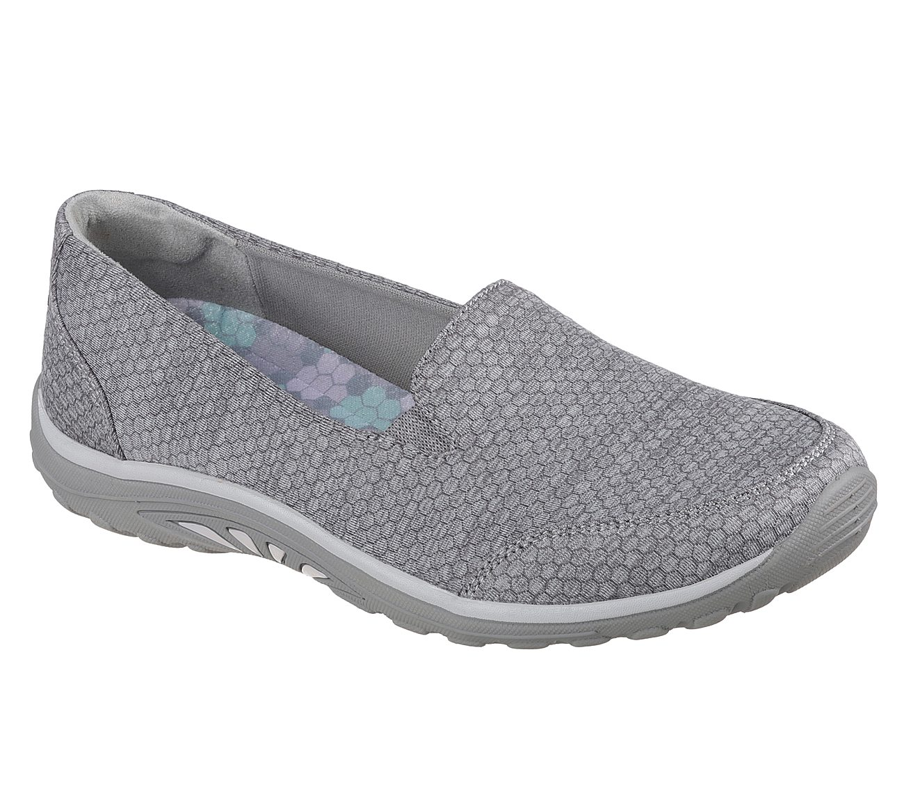 NEW SKECHERS WOMENS RELAXED FIT REGGAE FEST SUMMIT VIEW SLIP-ON SHOE