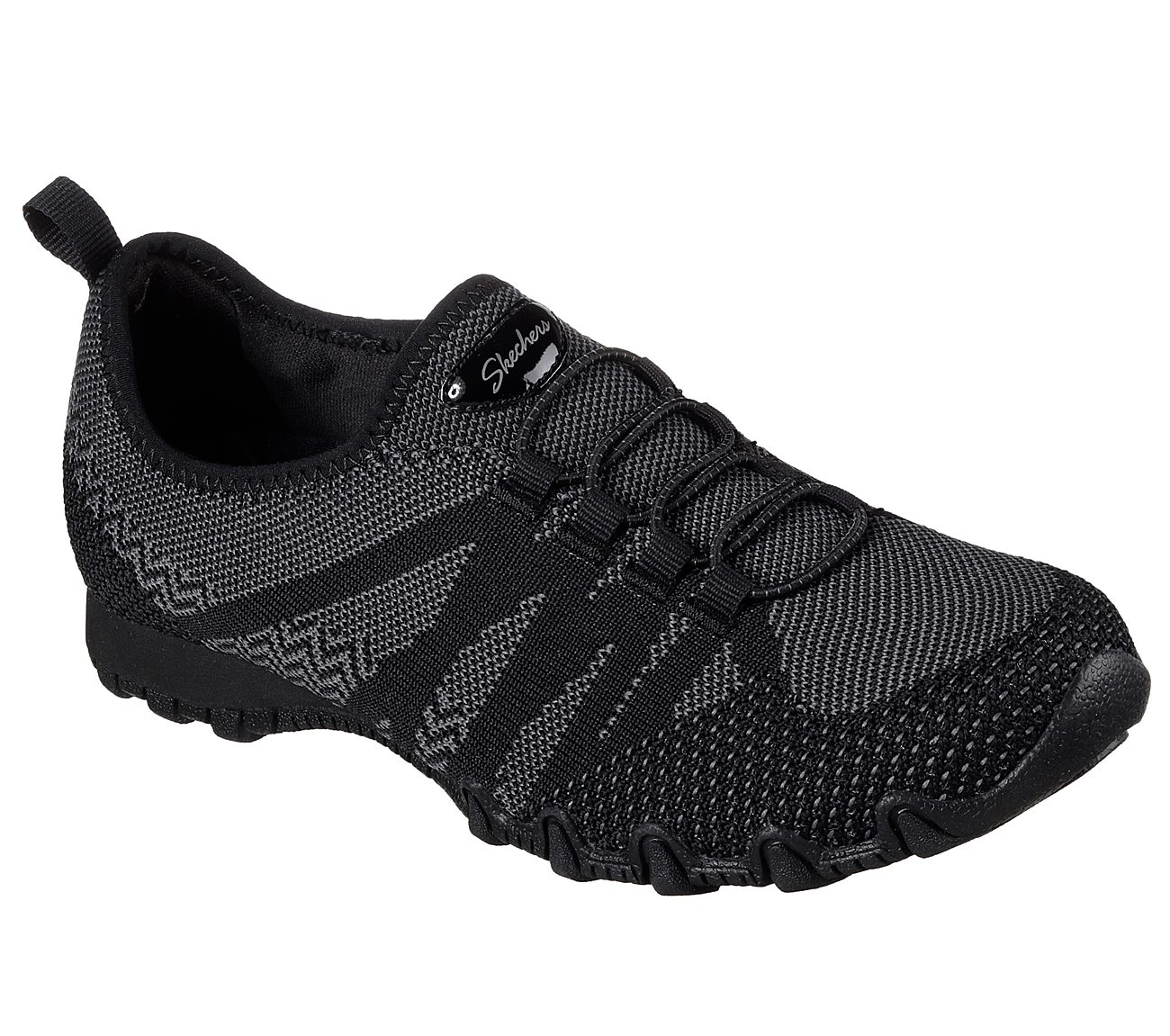 Skechers Relaxed Fit Bikers Get With Knit Sneaker (Women's) BjDHxgA