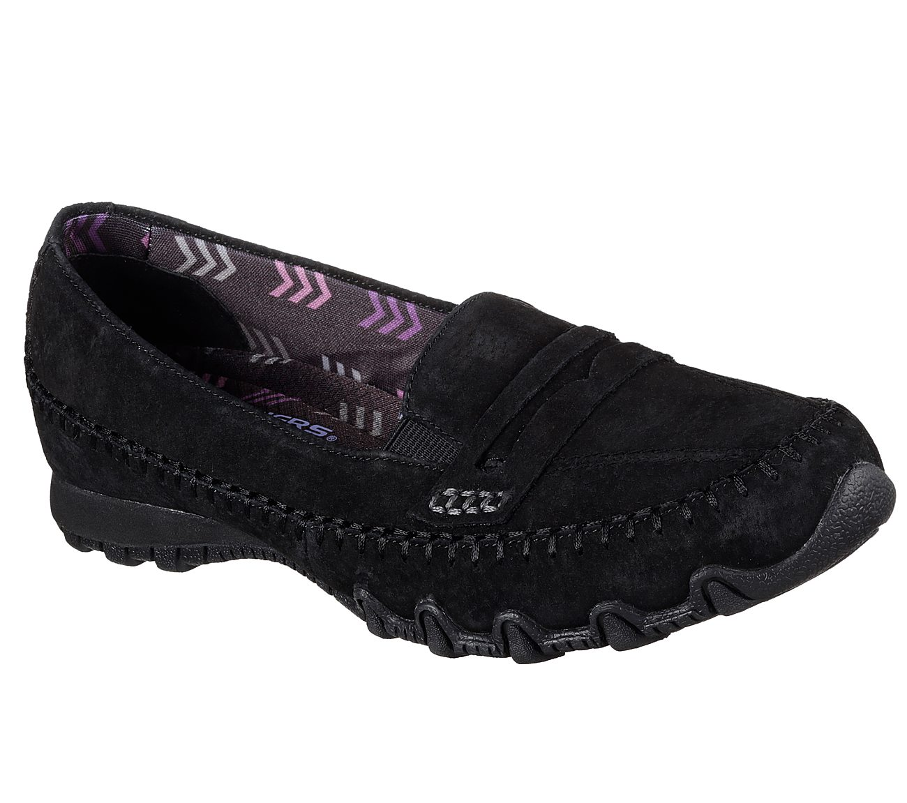 757835fa736 SKECHERS Modern Comfort™. Classic loafer style meets amazing comfort in the SKECHERS  Relaxed Fit®  Bikers - Penny Lane ...