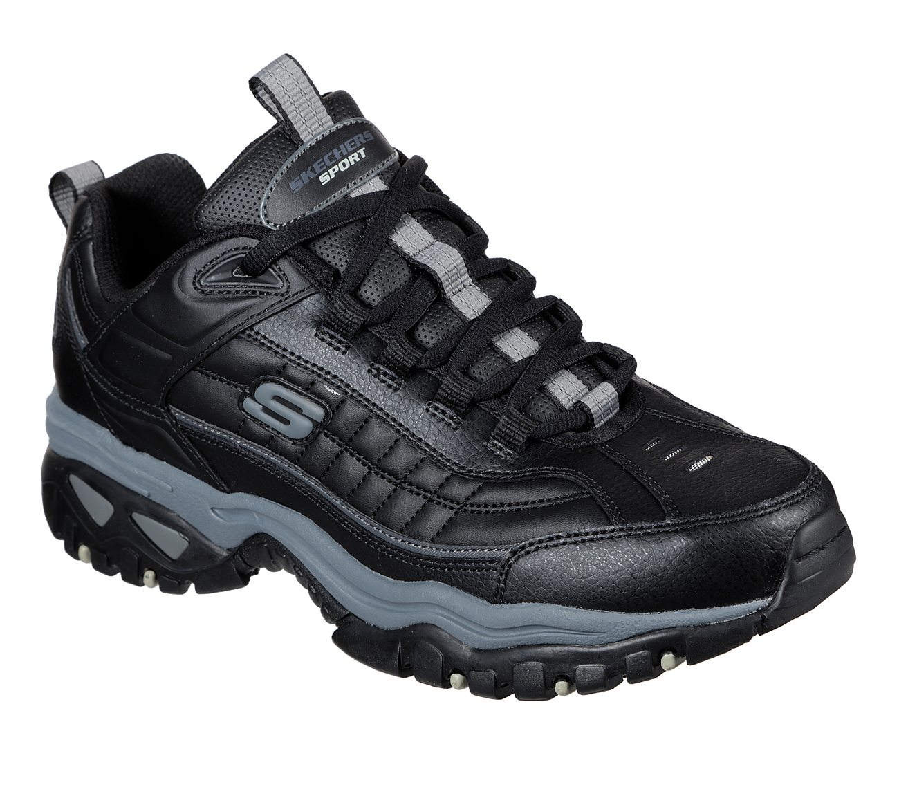 skechers no tie tennis shoes