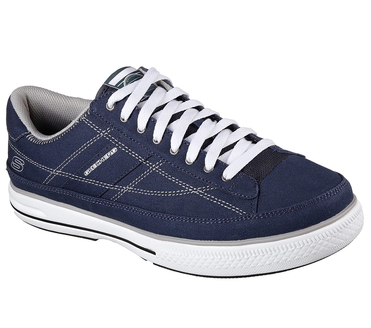 Skechers Arcade Chat Casual Lace Up Shoe