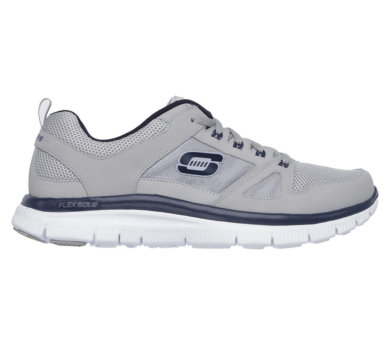 51251 Navy EW Wide Width Skechers Shoes Men Memory Foam